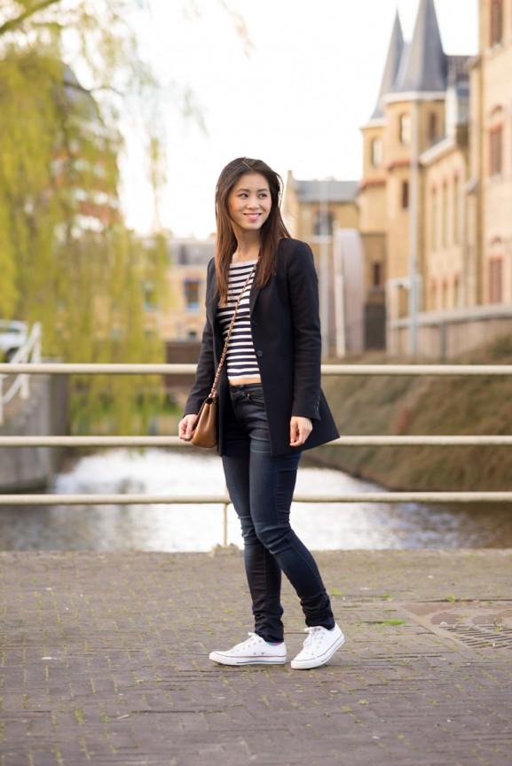 vanilia-blazer-look-gstar-allstars-white-mulberry--577x864 Outfit: Vanilia Casual chique blazer
