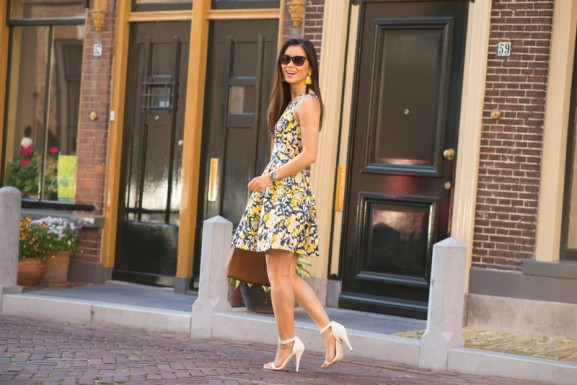 Floral-Yellow-dress