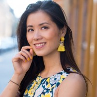 My-huong-face-of-the-day-200x200 Outfit Yellow Floral dress