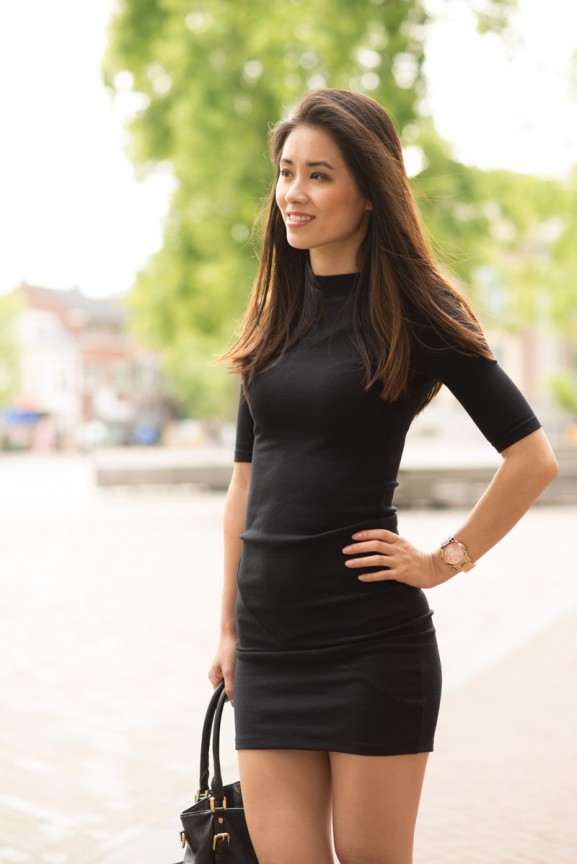 Outfit-Black-dress-My-Huong