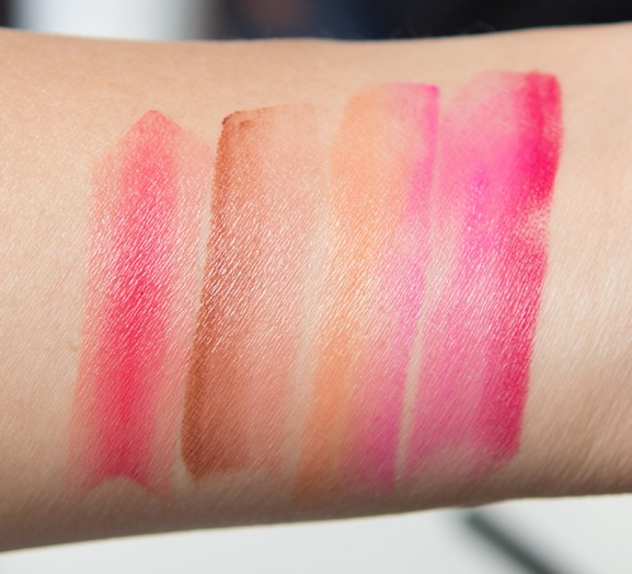 Swatches-lipsticks