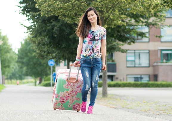 bagageonline-carry-on-koffer-bloesem
