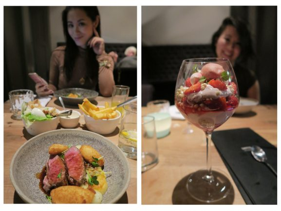 uit-eten-met-Kai-Huong-Sems-Toetje-Michelin-Restaurant-style-577x434 Diary pic's: Guerlain make-up workshop, Ecco Leather event & Meditatiesessie Rituals