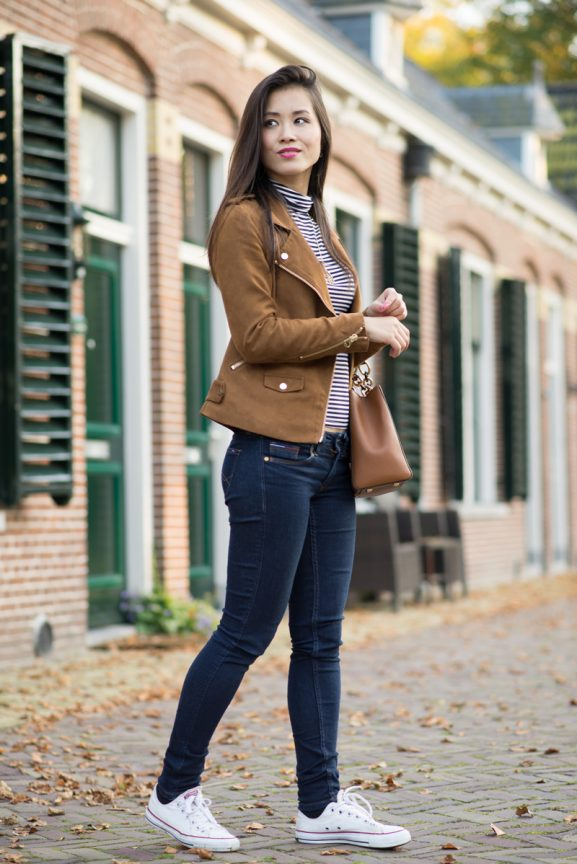 my-huong-suede-jacket_-577x864 Outfit: Faux Suede Jacket