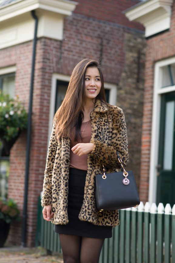 panter-print-look-outfit-eastermar-577x864 Outfit: Faux fur panter jas