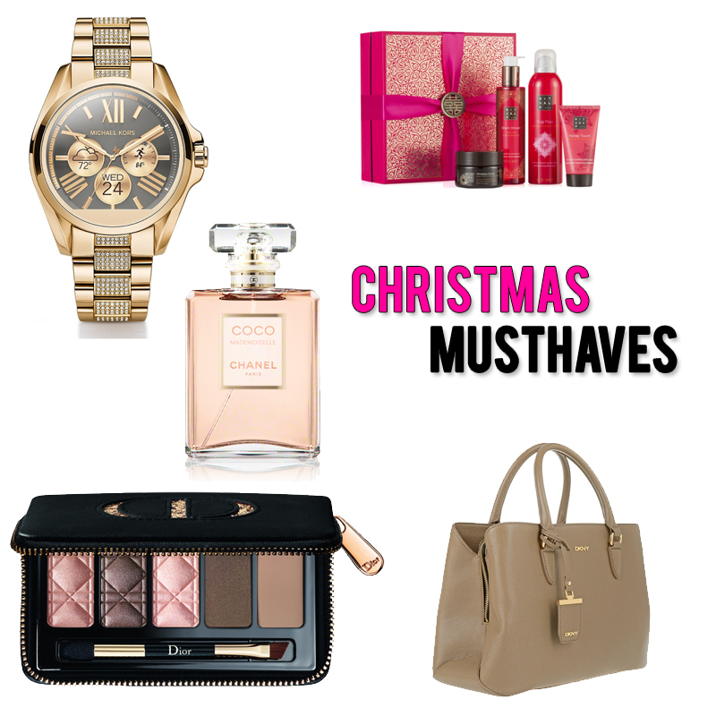 christmas musthaves 2016 michael kors dkny dior - Christmas Must Haves