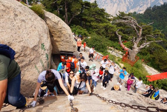 Mount-Hua-China-577x386 Reisverslag China & Taiwan 2017
