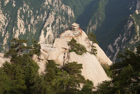 Mount-hua-577x386 Reisverslag China & Taiwan 2017