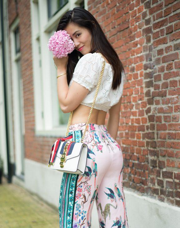 my-HUong_Bohemian_2Birds-Flowers-Pantalon-Pink_by_marcus_Kleefstra_NikonD610-577x731 Outfit: Bohemian garden