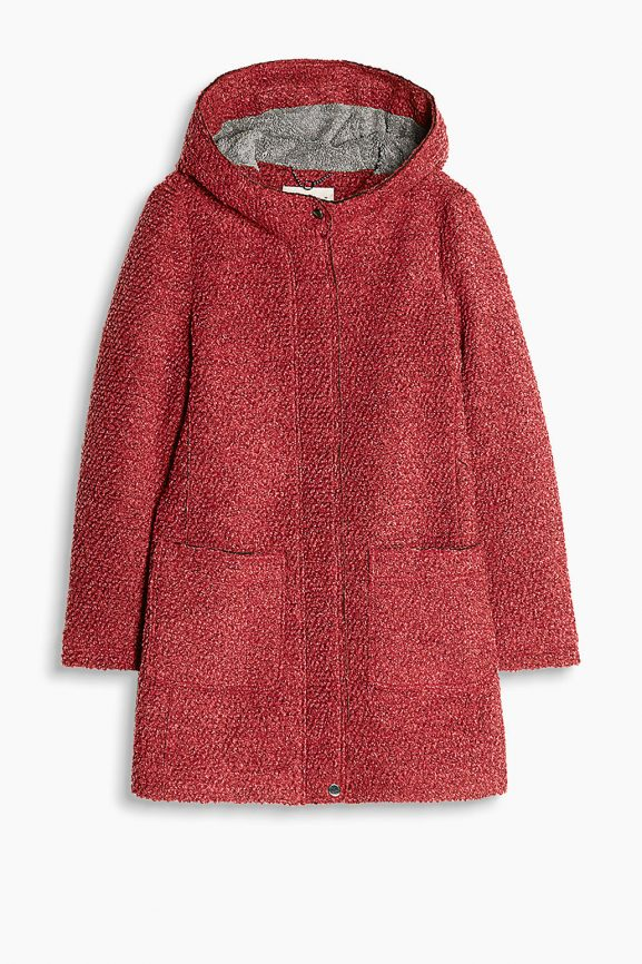Red Jacket Coat Esprit