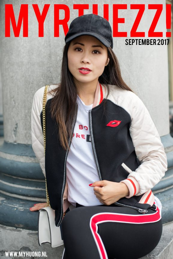 magazine_Model_My-Huong_Myrthezz2017-577x864 Outfit: Red lips bomberjacket