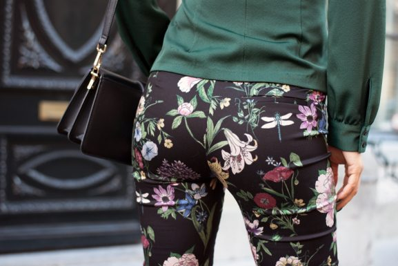 pants_Flower_hm_Autumn_winter2017-577x385 Outfit: Forest Green look