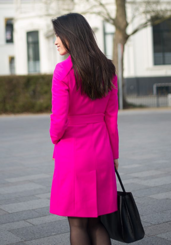 jas-ted-baker-pink-Fuschia-577x824 Outfit: Ted Baker Pink Coat
