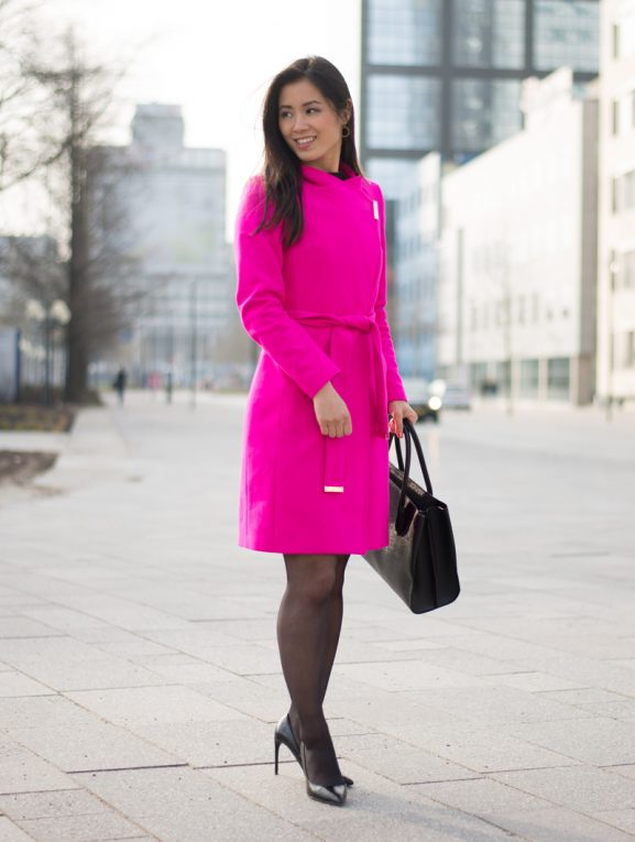 ted-baker-jas-Fuschia-pink-Leeuwarden_lange-markstraat-577x765 Outfit: Ted Baker Pink Coat