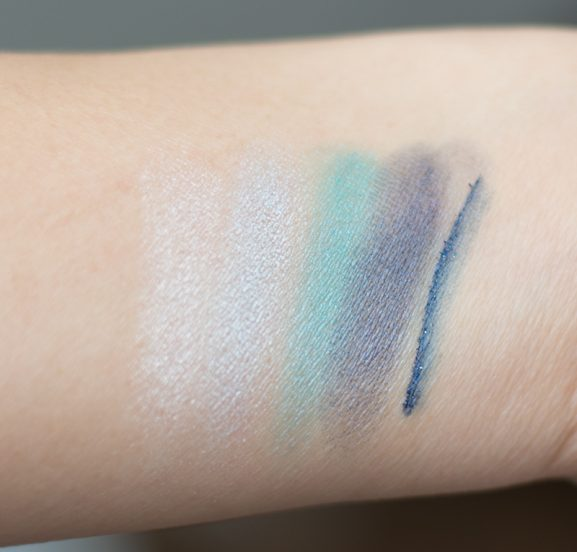 Swatches-Portofino-4-Eyeshadow-palette-collistar–Incanto-Marino