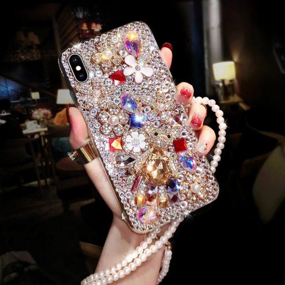 iphone-11-pro-case-diamant-shiny-577x577 De meest stijlvolle telefoonhoesjes van 2020
